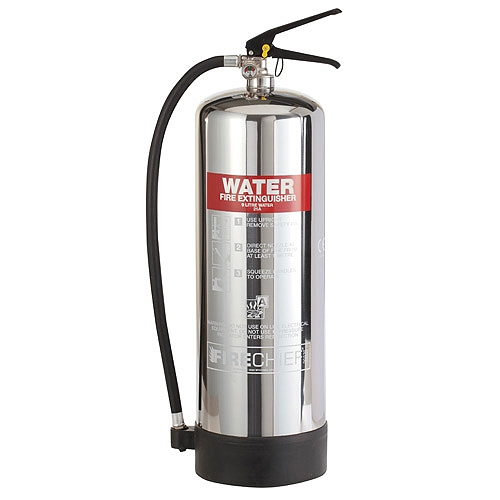 Chrome 9 Litre Water Fire Extinguisher